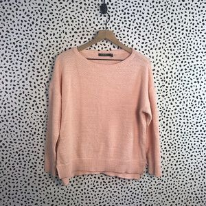 Ralph Lauren pink knit sweater size large